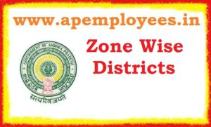 Zone wise districts in Andhra Pradesh APPSC