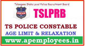 TS Police Constable Age Limit 2018 Telangana Police Age Relaxation