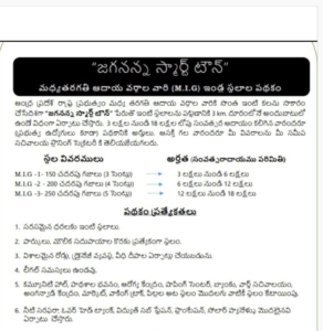 Jagananna Smart Town Application Eligibility Selection Guidelines Jagananna MIG Layouts/smart townships Online Application Procedure Middle Class families Smart Town House Jagananna Smart Town online Application Form Download
